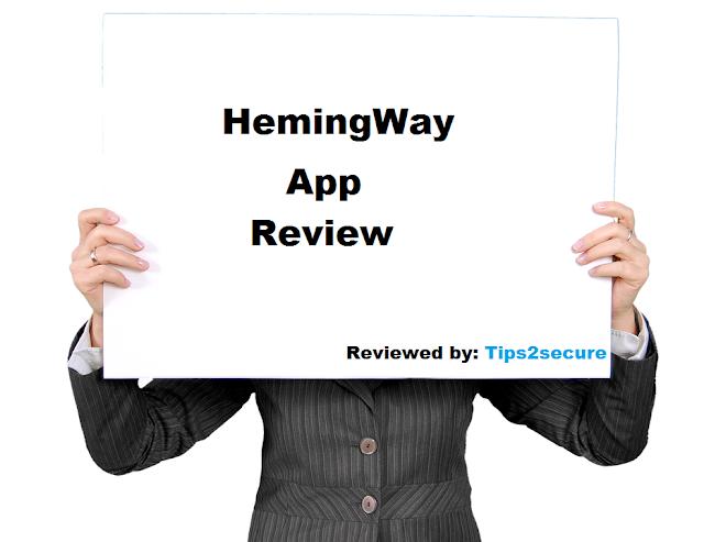 Hemingway App Review