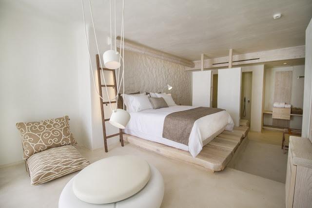 Un hotel di design a mikonos for Designer di interni
