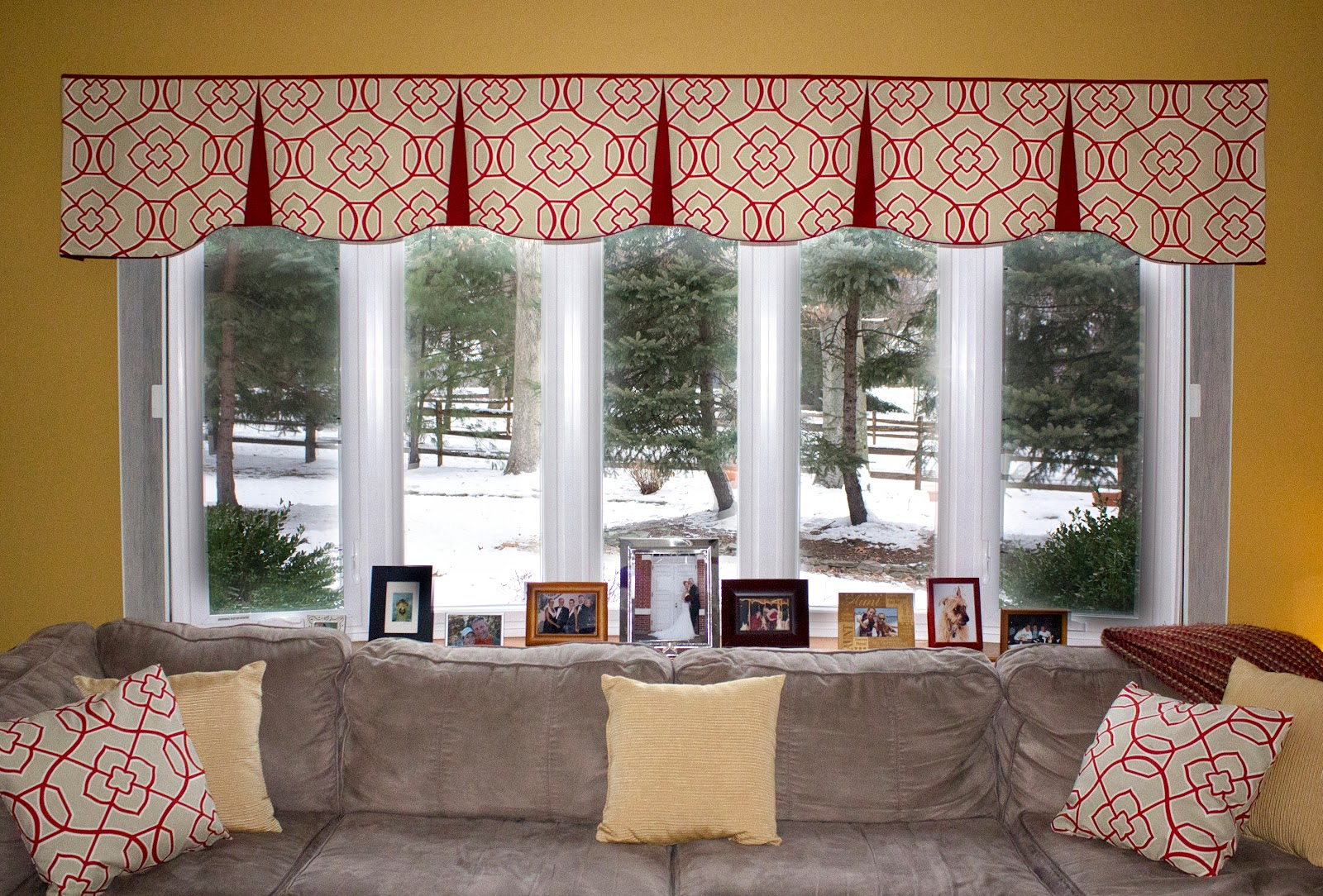 The Sewing Ninja: Before And After: Working With Wide Windows
