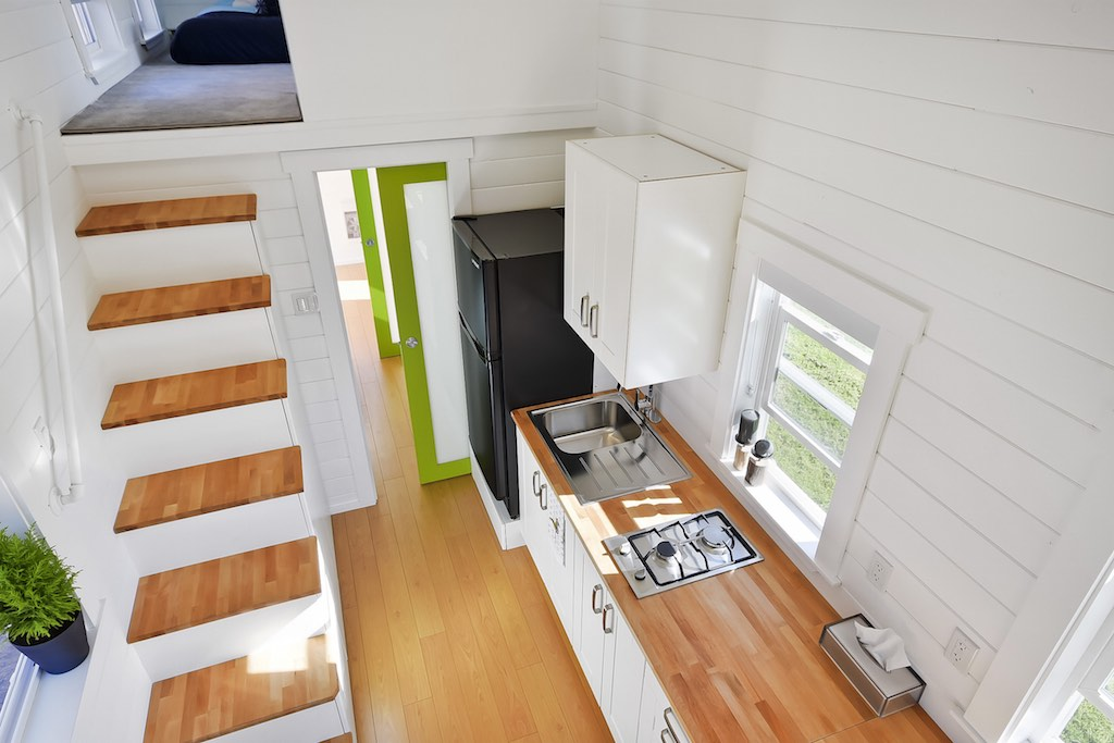 Custom Home From the Mint Tiny House Company TINY HOUSE TOWN