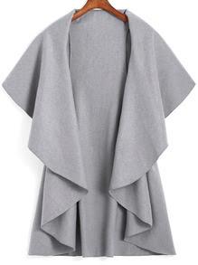 Abrigo gris de SheIn