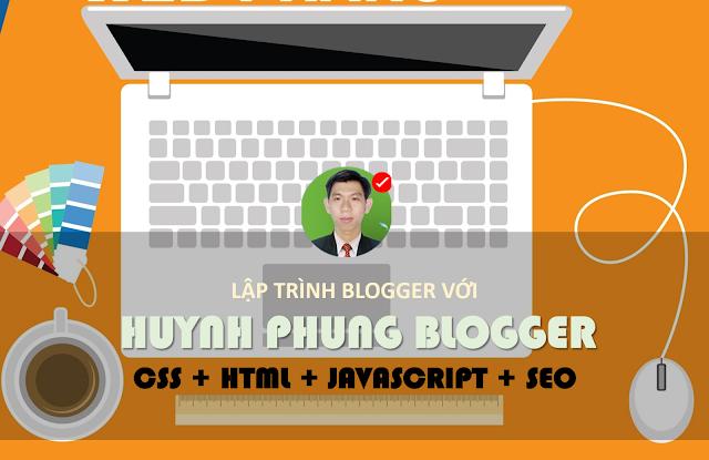 Khóa học Lập Trình Website bằng Blogger