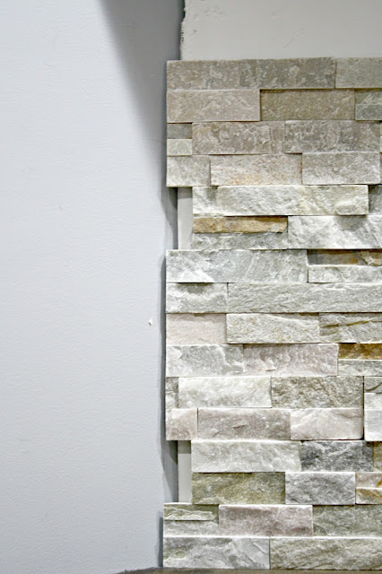stacked ledgestone from Lowe's