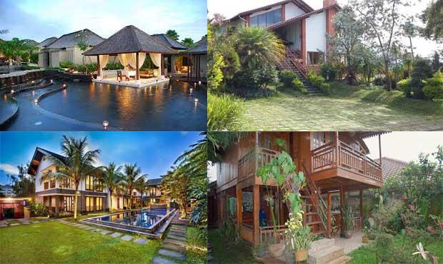 Villa lembang Bandung murah untuk liburan bersama keluarga