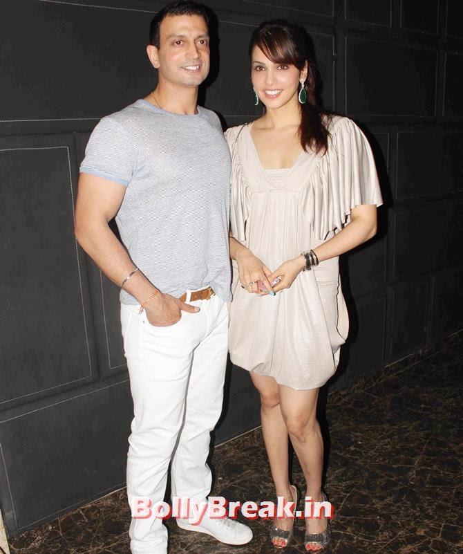 Eesha Koppikhar and Timmy Narag, Tv Celebs at a restaurant launch