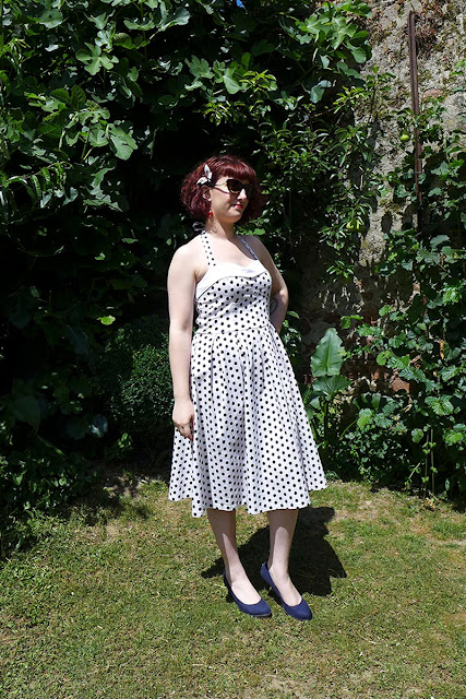 look pin'up, robe à pois lindy bop