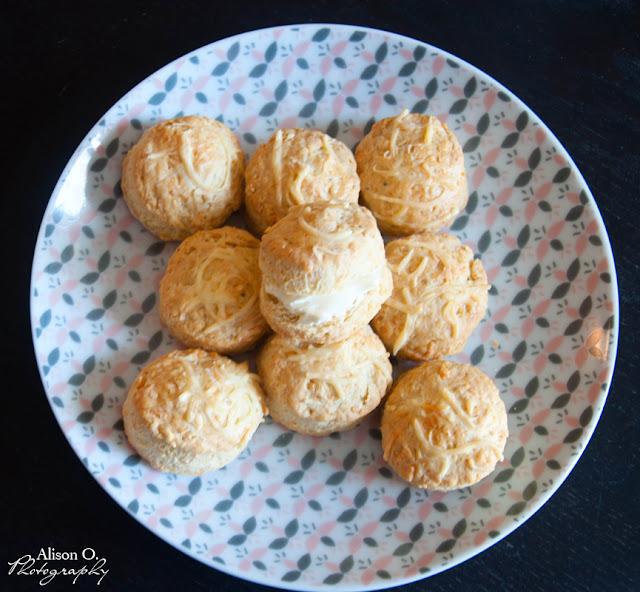Recette de scones anglais au fromage