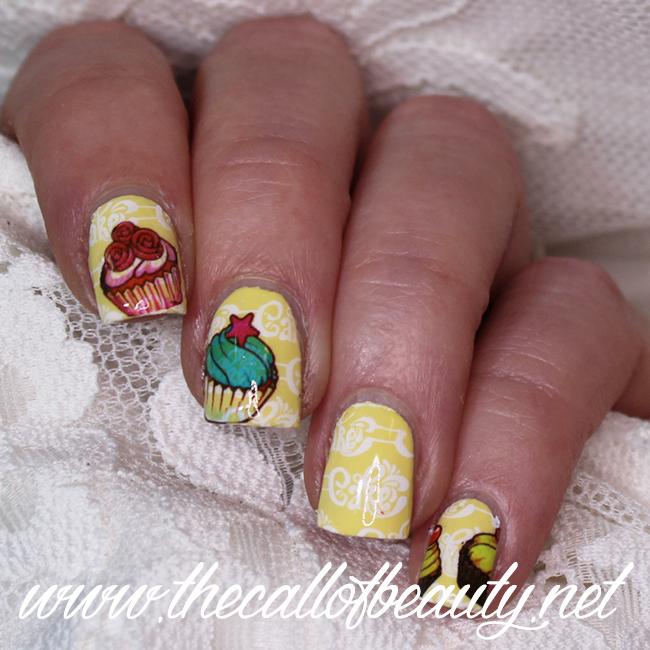 Cupcake Manicure