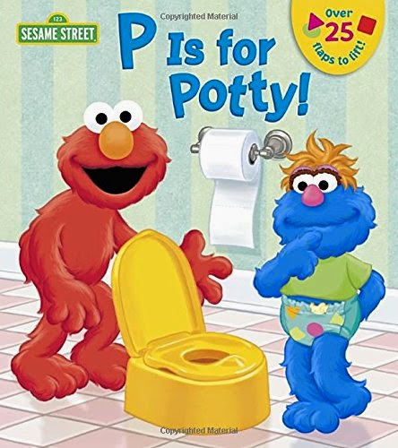 elmo potty training books
