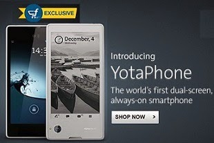 World's First Dual Screen Smart Phone: Now Yota Phone for Rs.12999 Only @ Flipkart (Limited Period Offer)