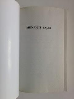 After The Night - Menanti Fajar