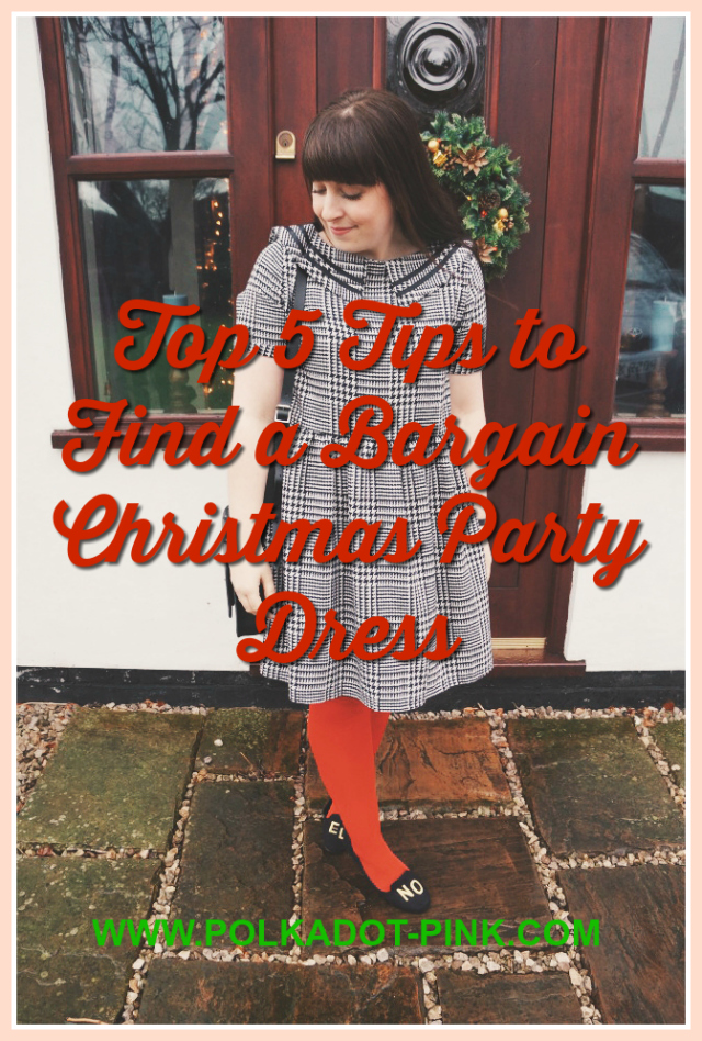 Bargain Christmas party dress