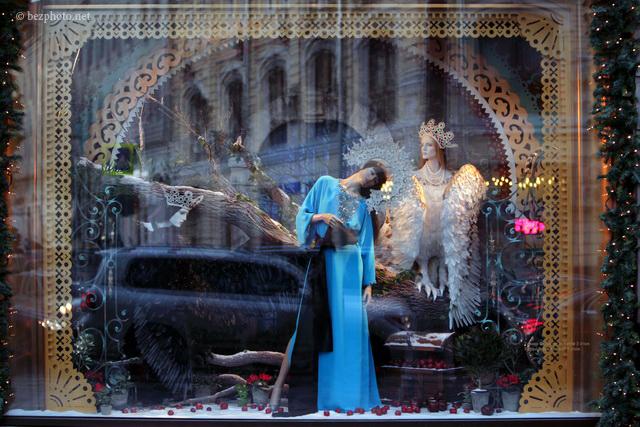 новогодние витрины цума 2016