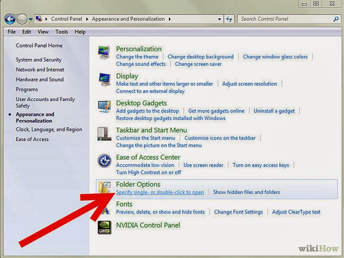 How to Open Files and Folders in Single Click in Windows XP, Windows