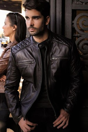 Jual Jaket Kulit Asli Garut Pria Domba Original Brida Leather M14 | WA 08813430588