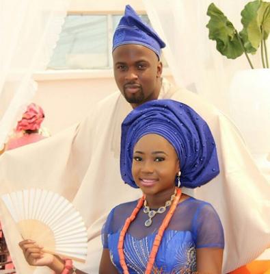 Brilla FM's boss Phoebe Izamoje and Damilola Asolo traditional wedding vow
