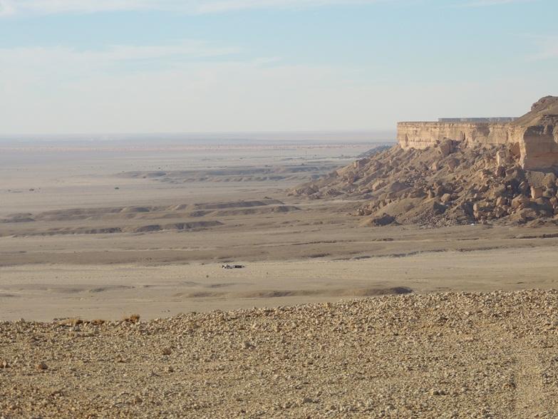 Thumamah escarpment
