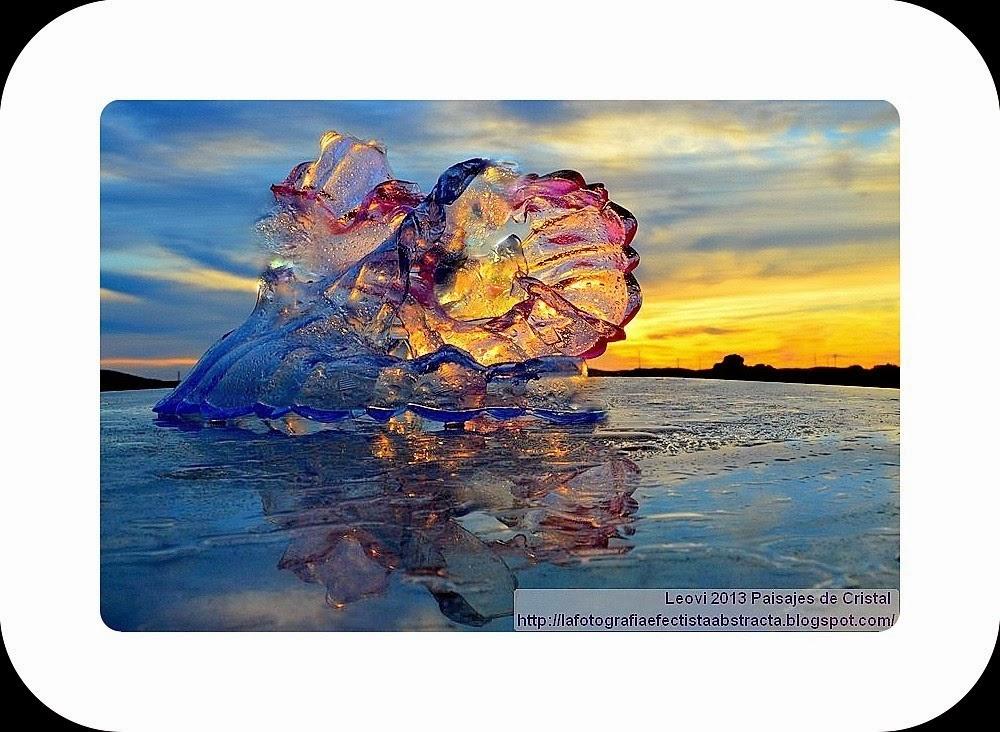 Foto Abstracta 2959 Crystal Landscape 132 La reina del baile de la noche del viernes