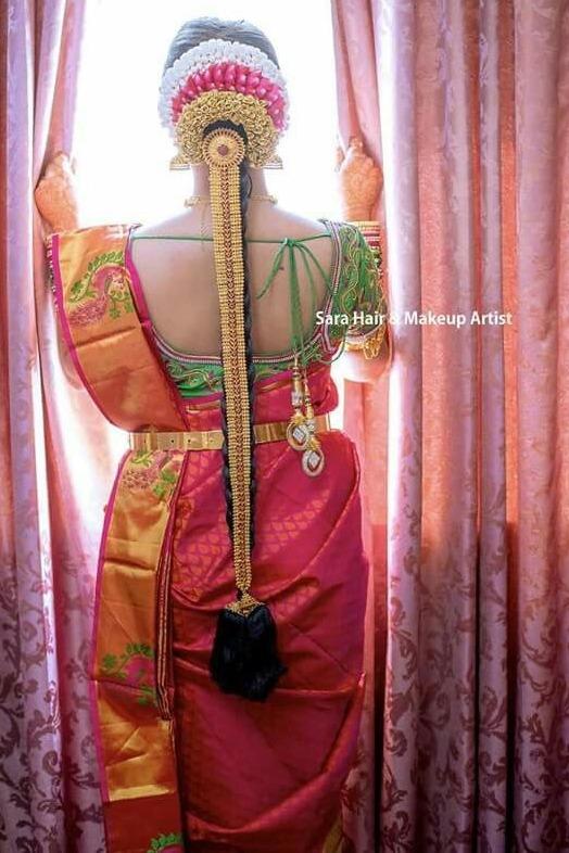 Bride in Antique Ruby Jada