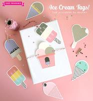 tag chiudi pacco forma gelato