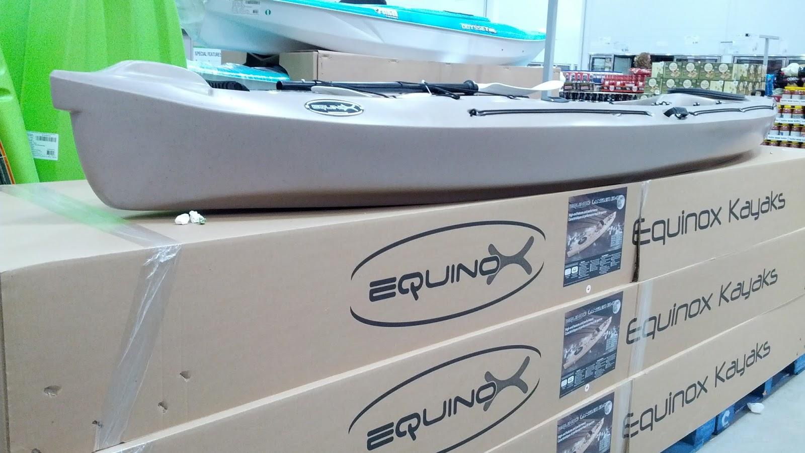 Equinox Kayaks 13 4F Angler Fishing Kayak | Costco Weekender