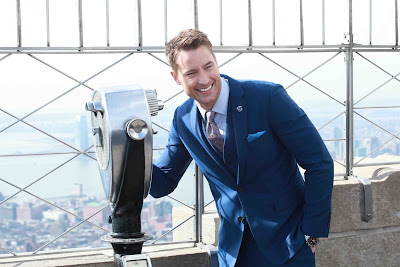 JUSTIN HARTLEY VISITS EMPIRE STATE BUILDING