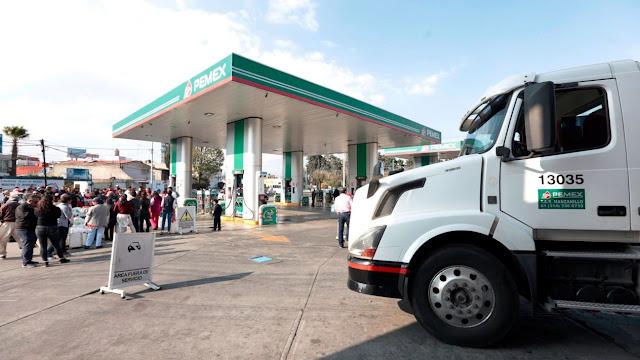 Suministro de gasolina en CDMX se normalizará en 2 días; en Edomex y Bajío en 4: Nahle