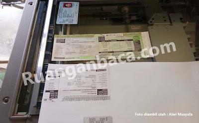 fotocopy tidak sama Konica Minolta Bizhub 350/250/420