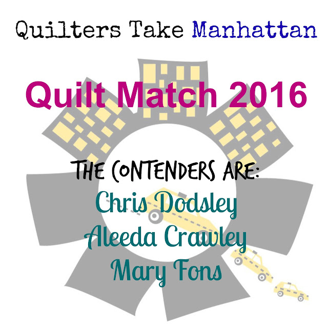 Quilters Take Manhattan Quilt Match Contenders