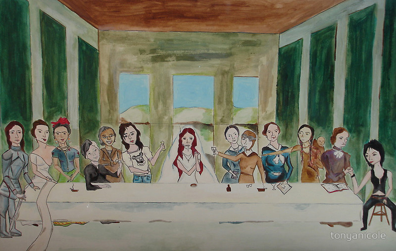 My Rendition of The Last Supper by Tonya Nicole