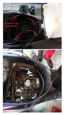 Servis Ringan Honda Spacy Karburator  JaPS