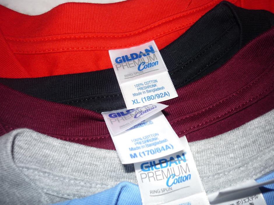 Kaos GILDAN Premium Cotton