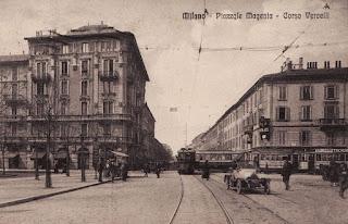 Piazzale Baracca, porta magenta, corso Vercelli