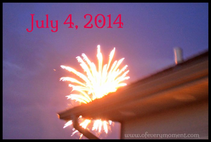 July 4th, fireworks