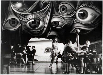"""Sueño de Salvador Dalí en """"Recuerda"""" de Hitchcock"""