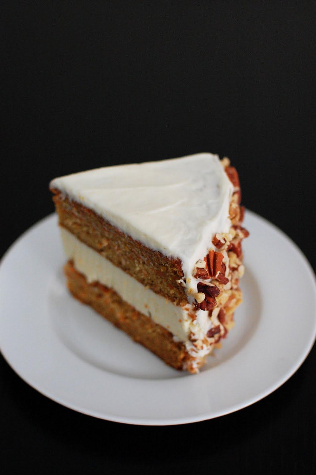 Carrot Cake And Cheesecake Cake Beantown Baker