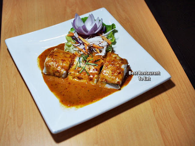 Steamed Fish With Curry Sauce