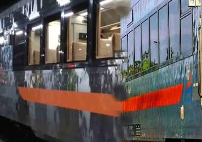 New Livery KAI Kereta Berbody Krom Mengkilat