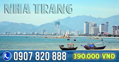 Vé máy bay đi Nha Trang giá rẻ hè 2017