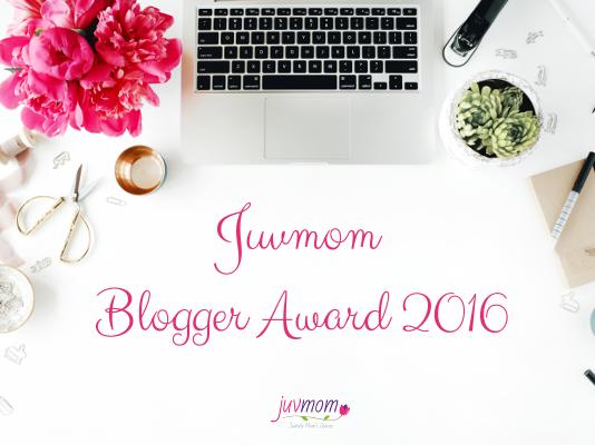 Juvmom Blogger Award 2016