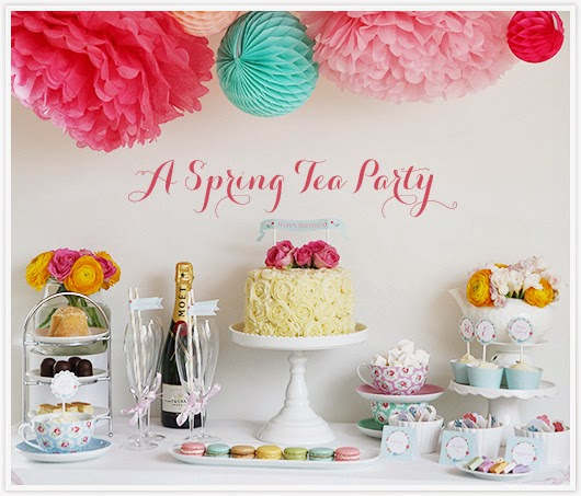A spring tea party by Paper & Party Love