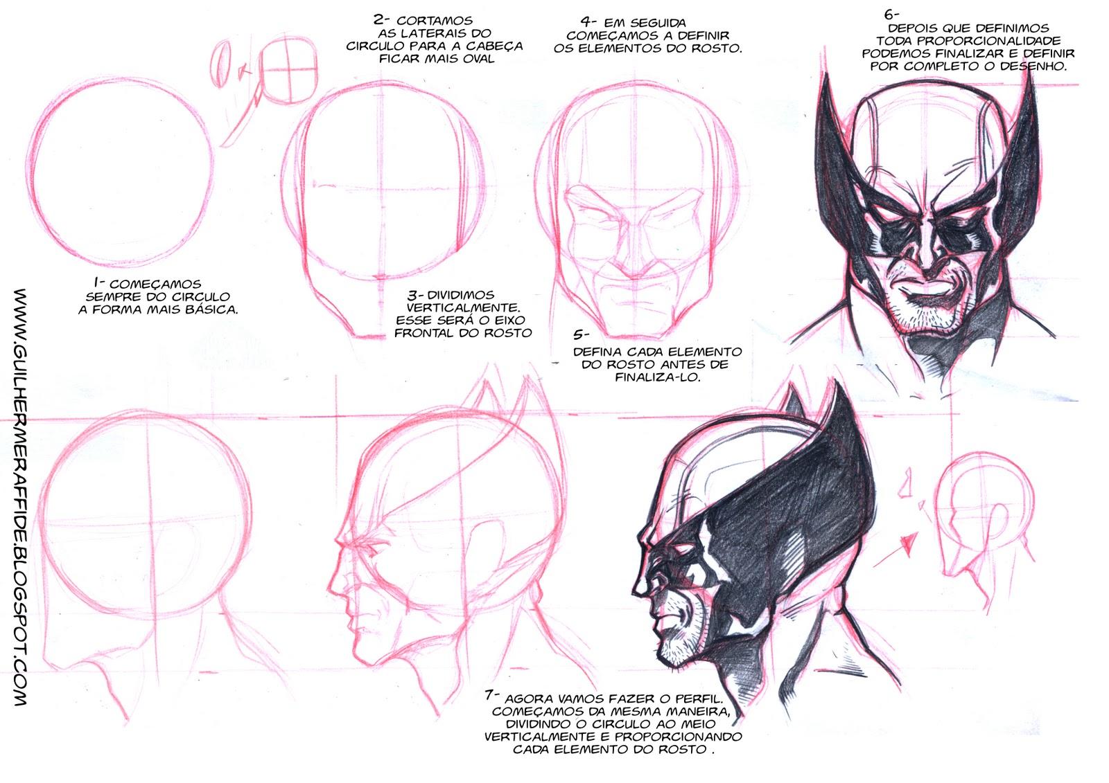 Como Desenhar O Wolverine Logan How To Draw Wolverine
