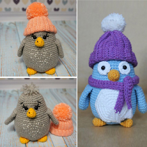 Baby Penguin - Fee Amigurumi Pattern