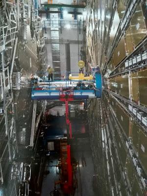Detector ATLAS del Gran Colisionador de Hadrones