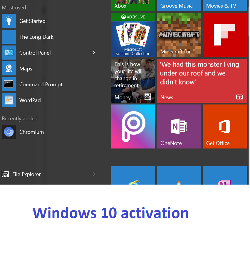 Windows 10 product key and activation how to activate windows 10 ccuart Choice Image