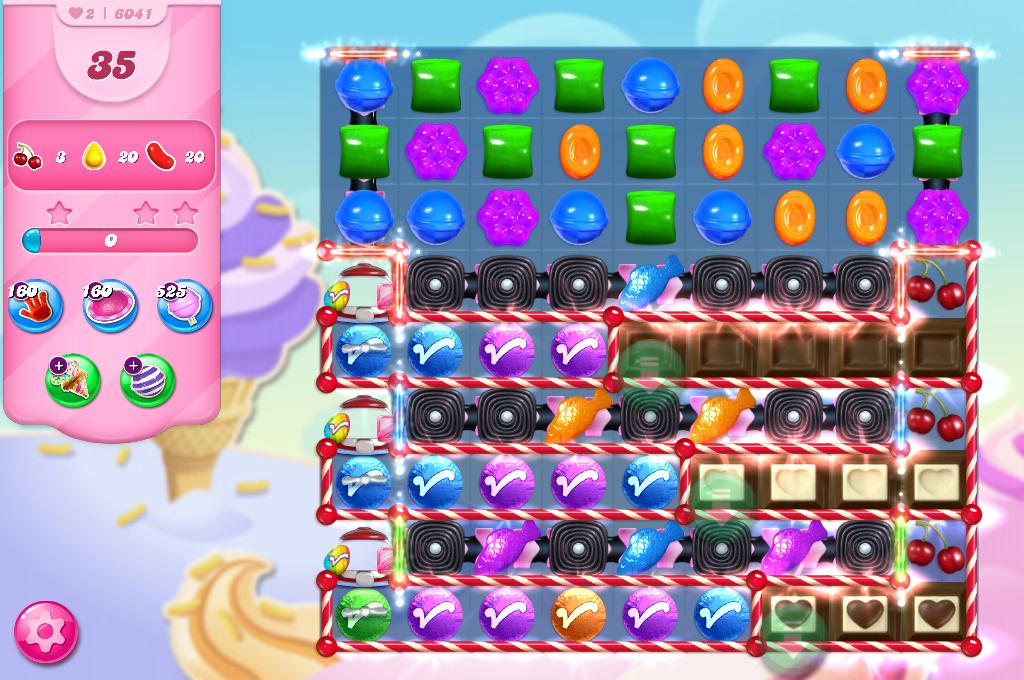 Candy Crush Saga level 6041