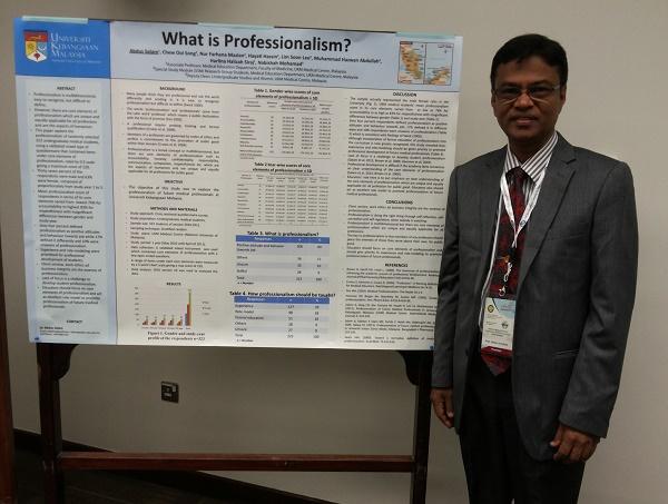 What is Professionalism? at AMEER-2013, Kingdom of Saudi Arabia
