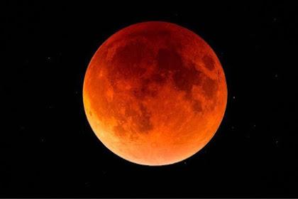 Inilah Amalan Sunnah Yang Dilakukan Saat Terjadi Gerhana Bulan