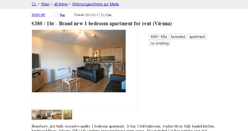 Best Image of Craigslist One Bedroom Apartments For Rent ...