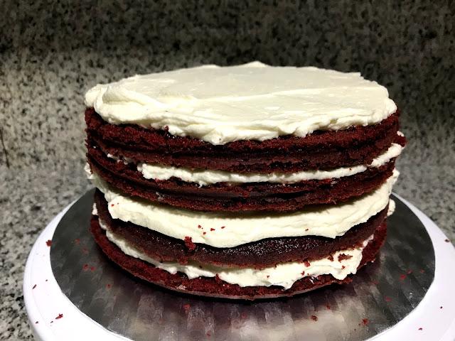 Nude Red Velvet Layer Cake